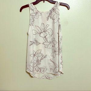 Apt. 9 White Sleeveless Dress Shirt